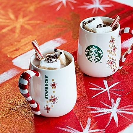 1 x starbucks candy cane mug 12 fl oz christmas gift idea