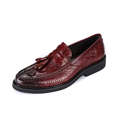 Premium Tassel Loafer for MenEmbossed pattern vamp special and fashional