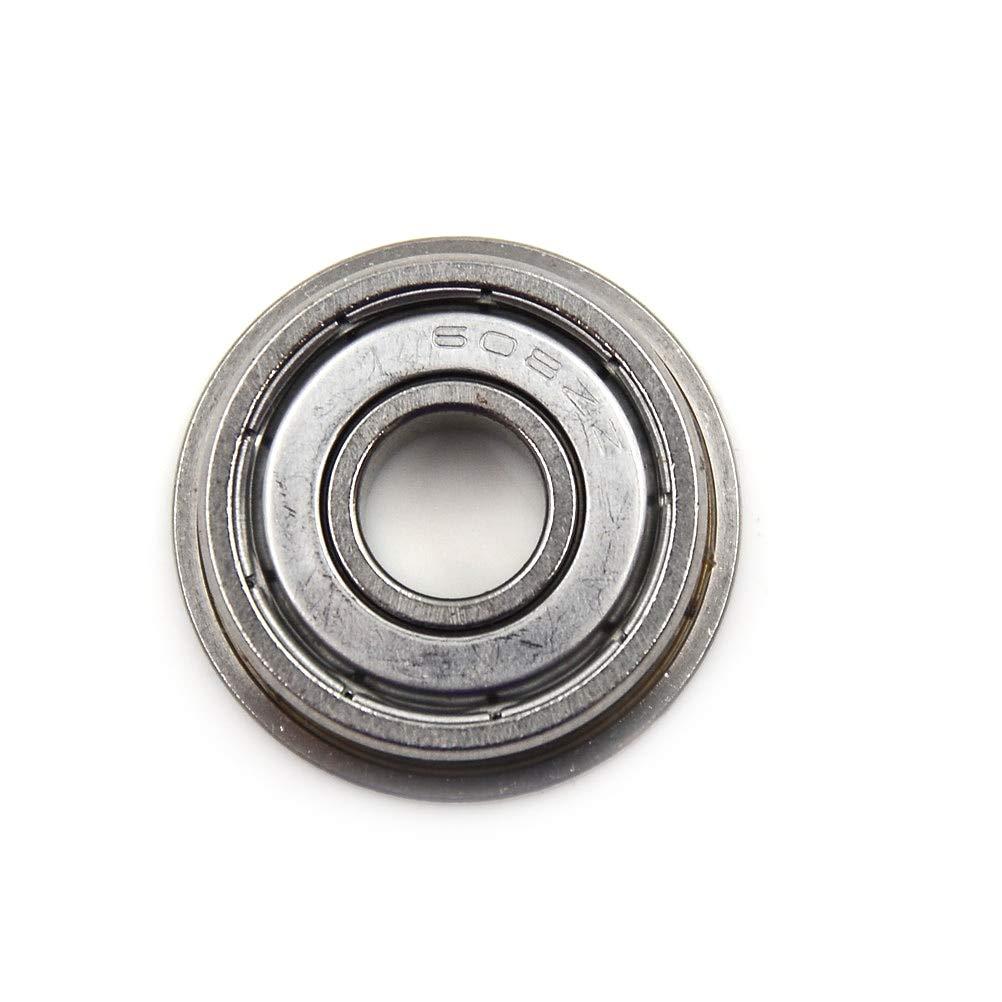 10pcs Metric flanged Bearing Flange Ball Bearing F608ZZ 8*22*7 mm New
