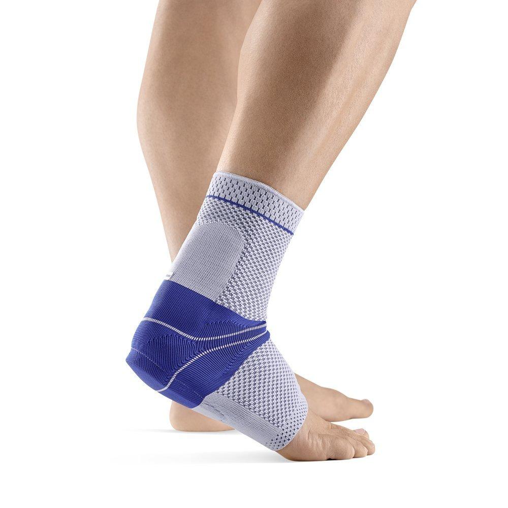 Bauerfeind AchilloTrain Left Achilles Tendon Support (Titanium, 4)