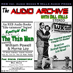 Audio Archive Presents Dashiell Hammett's 'The Thin Man'