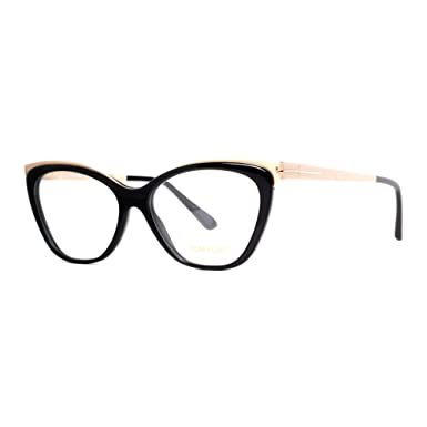 263d3f76f7 Image Unavailable. Image not available for. Color  TOM FORD Eyeglasses  FT5374 001 Shiny ...