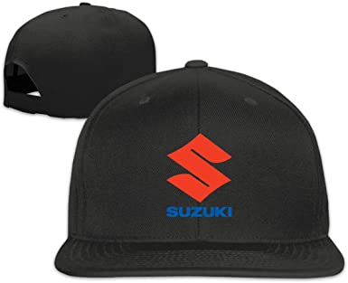 Nyanhif Customized Suzuki Motorcycles Logo Fashion Baseball Caps for Man Black