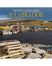 Newfoundland & Labrador 2021 Square Wall Calendar