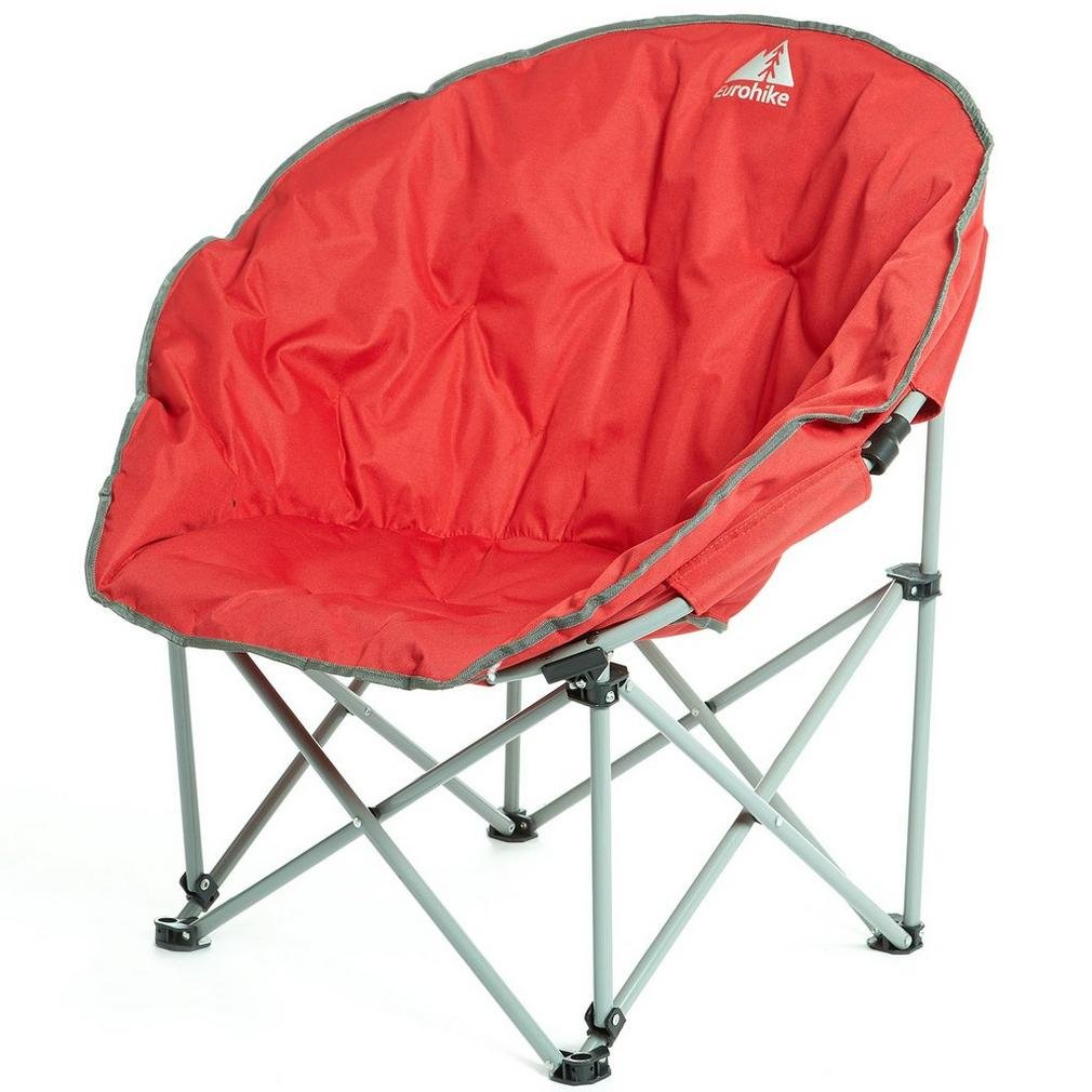 Eurohike Deluxe Moon Chair Red One Size