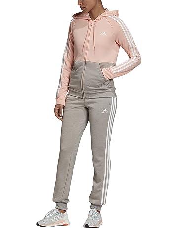 Damen Jogginganzug//Fitnessanzug//Hausanzug warm Rosa//Schwarz Kapuzenjacke+Hose