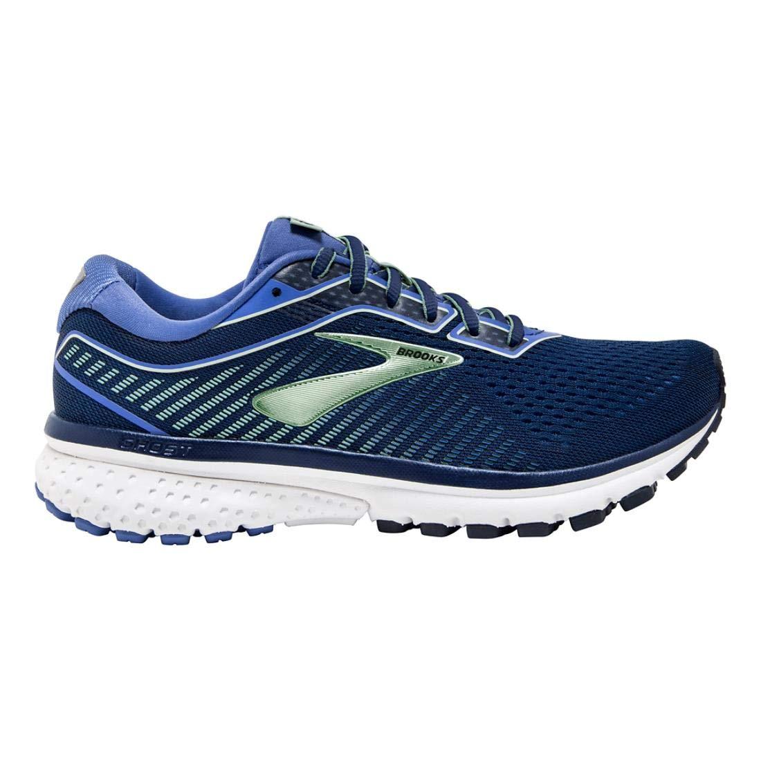 Bleu (Peacoat bleu Aqua 413) 43 EU Brooks Ghost 12, Chaussures de FonctionneHommest Femme