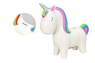 toi-toys–Salvadanaio Unicorno grande 32cm statua, 35018a, Multicolore 35018a 35018A