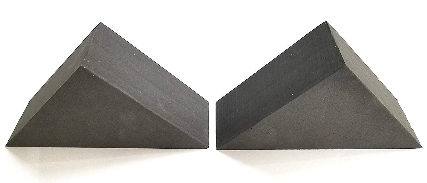 Handy Wedge by Creators A Pair Of Triangular Foam Shapes For Aligning And Holding Multiple Shapes Into A Geometric Pattern Such As A Right Angle Or Cube.