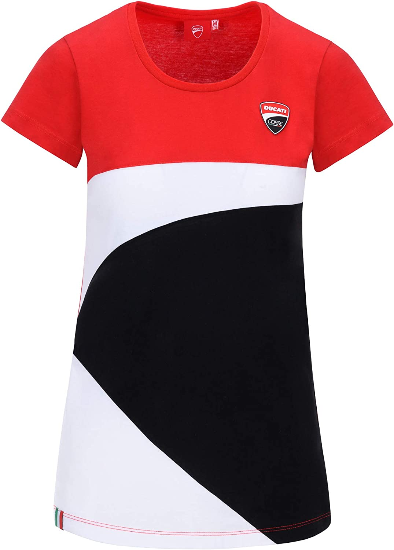 Ducati Corse Tshirt Racing Officiel MotoGP Femme