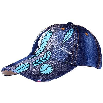 zhuzhuwen Sombrero de Moda Serie de Arenas pintadas a Mano ...