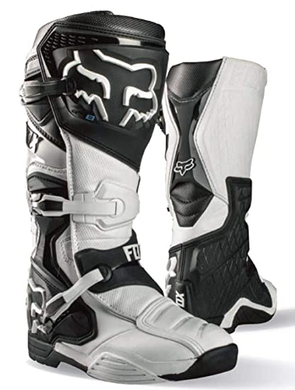 Fox Racing 2016 Comp 8 Mens Off-Road Motorcycle Boots - White / Size 9