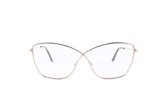 f3518b59433cc Image Unavailable. Image not available for. Color  Eyeglasses Tom Ford FT  5518 028 shiny rose gold