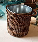ice holder with galvanized bucket