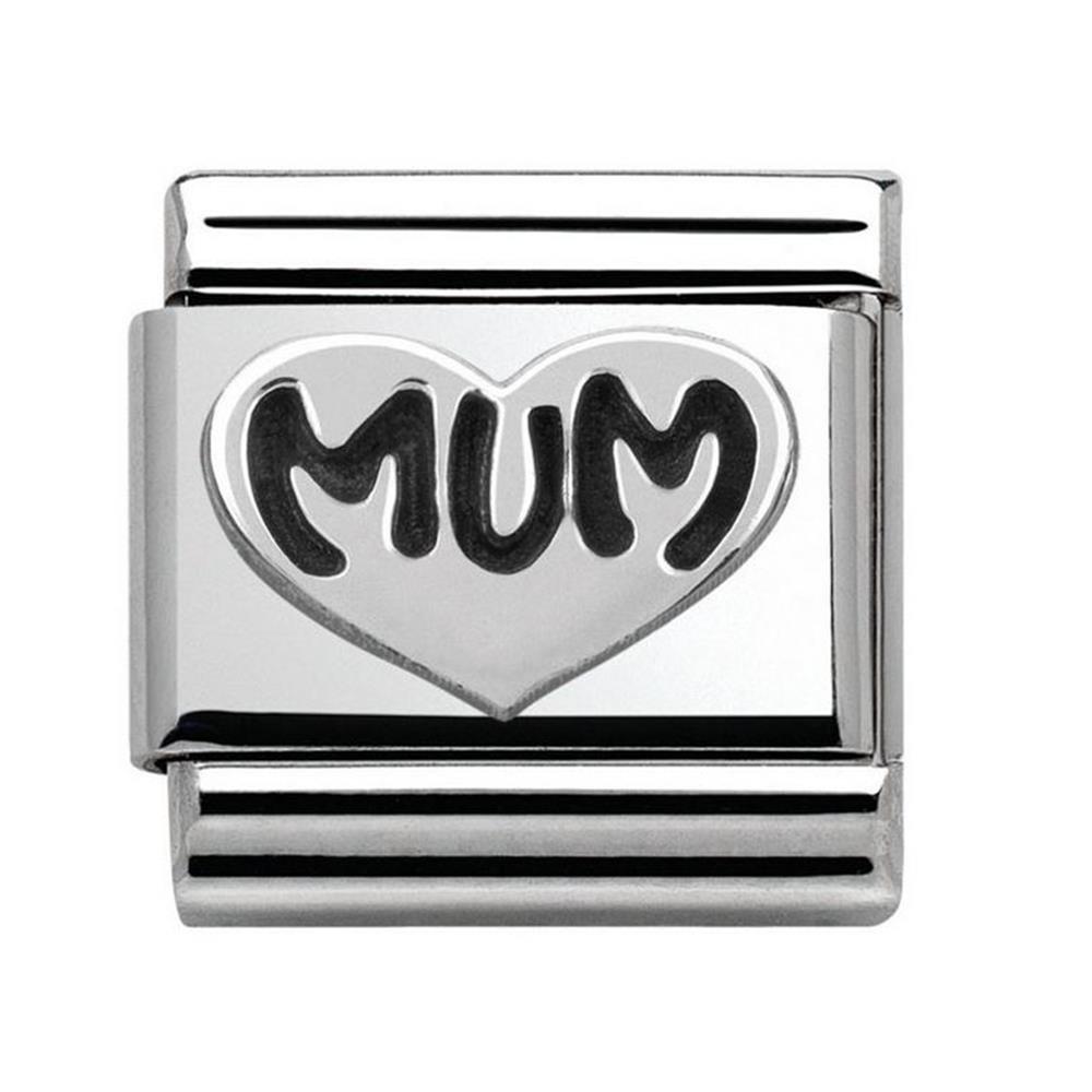 Nomination 330101/12Unisex Charm 925Sterling Silver 9ZMmC