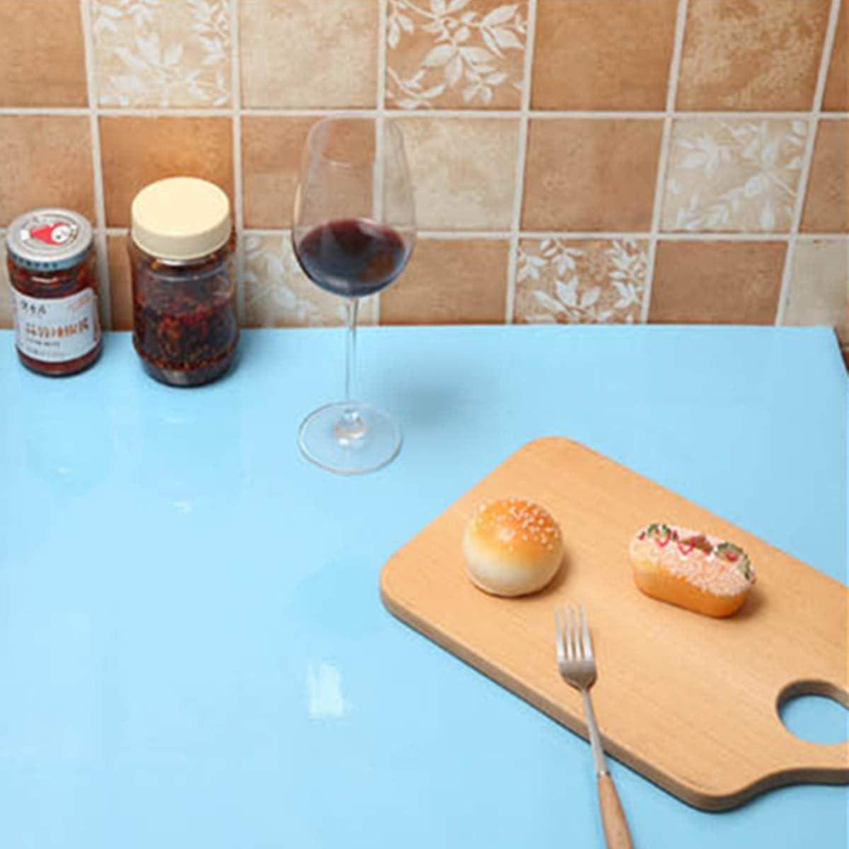 Stickers Meuble 40cmX600cm,Vinyle,Autocollants Meuble Papier Adhesif pour Meuble,Cuisine,Porte,Mur Blanc