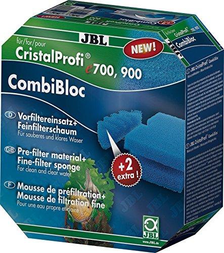 JBL Set mit Vorfiltereinsätzen und Filterschaum für Filter CristalProfi e 400/700/900, CombiBloc 60159