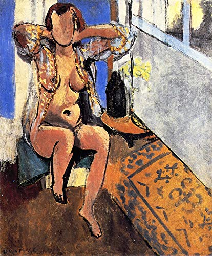 (Henri Matisse Nude with a Spanish Carpet 1919 Private Collection 30