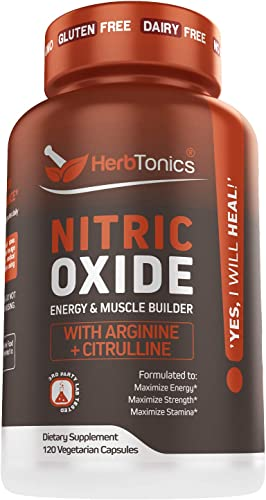High Strength Nitric Oxide Booster Supplement