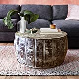 Drum Shaped Coffee Table Dsigne Gallerie Round Metal Large Coffee Table