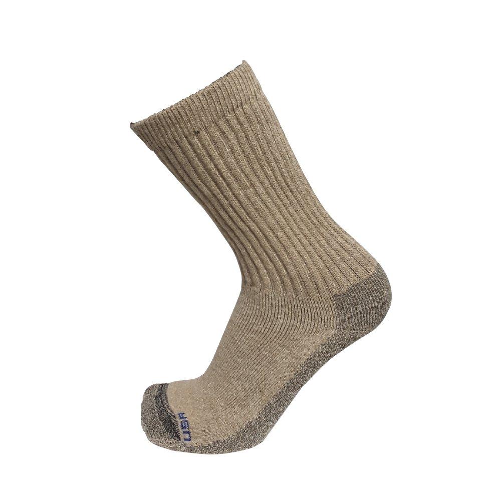 Doc Ortho Merino Wool Diabetic Socks, 2 Pairs, Crew