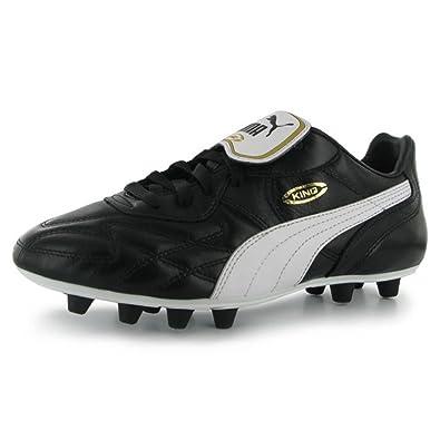 Puma KING TOP DI FG - Moulded stud football boots - black JSniCXm3