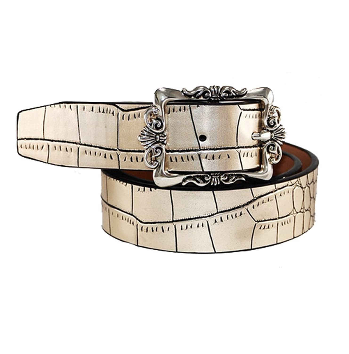 Women Retro Pin Buckle Waist Belt Fashion Claasic Real Leather Belts For Girls