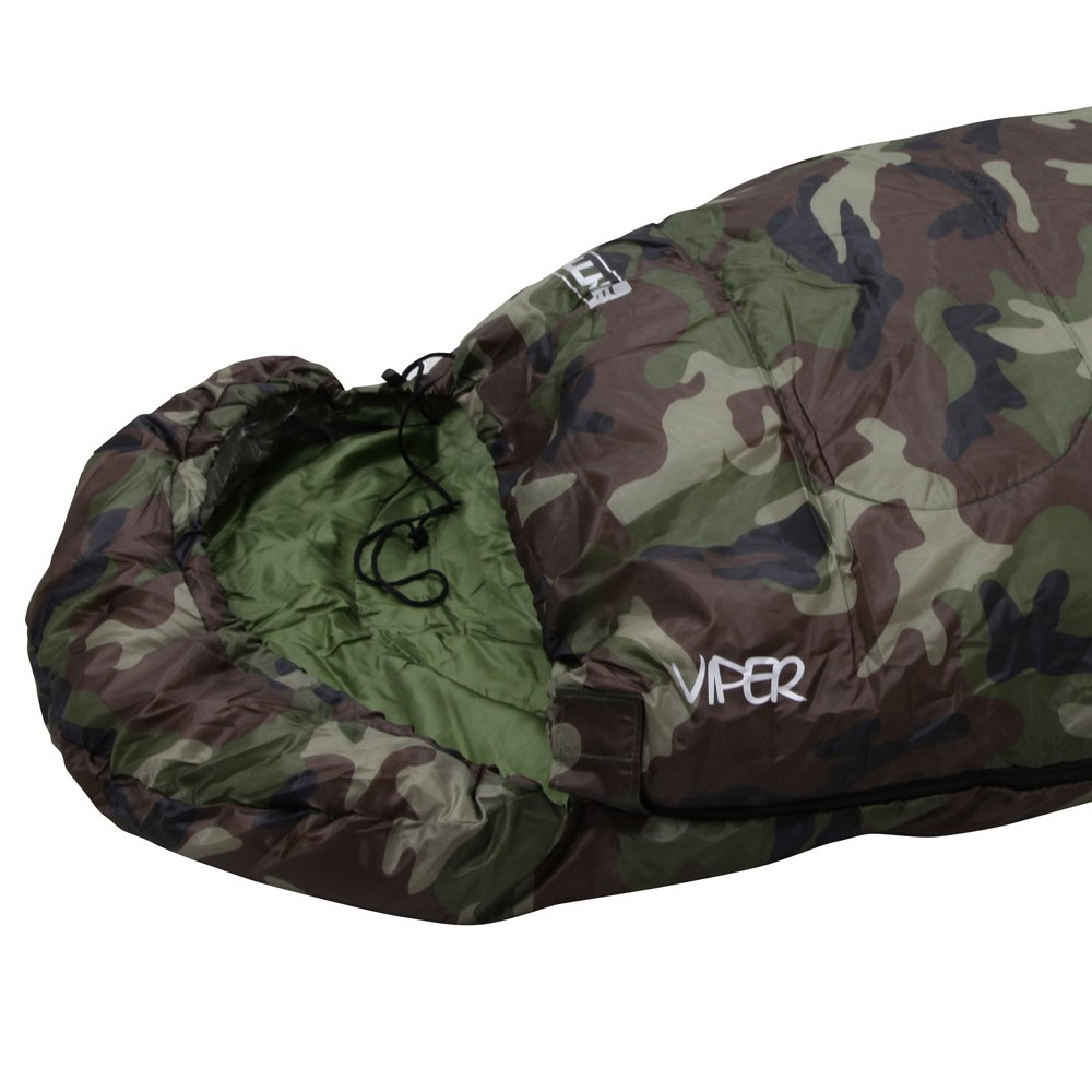 NTK Viper 3 Season Sleeping Bag Camouflage