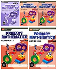 """This 5 Books Kit Includes """"Primary Mathematics Answer Key 1A-3B (Common Core Edition)"""" """"Primary Mathematics Textbook 5A (Common Core Edition)"""" """"Primary Mathematics Textbook 5B (Common Core Edition)"""" """"Primary Mathematics Workbook 5A (Common Co..."""