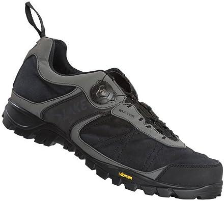 Zapatillas MTB Lake MX105 gris/negro para hombre Talla 44 2014 ...