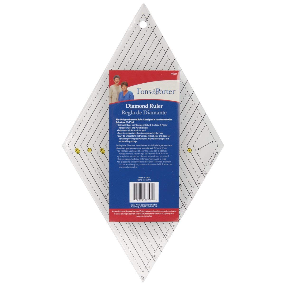 Dritz R7890 Fons and Porter Diamond Ruler
