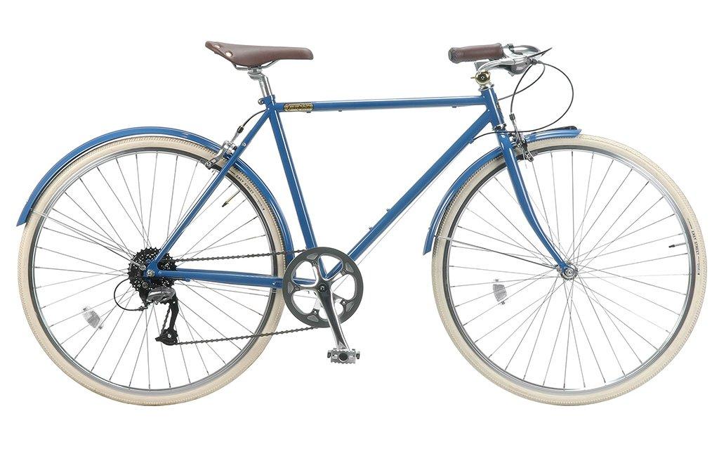 【 BURLINGTON BICYCLE 9D 700C@62640 】 バーリントン 9D 自転車 サイクル (ワイヤーロックサービス)(スタンド附属しません) B0753WNTBY DENIM DENIM