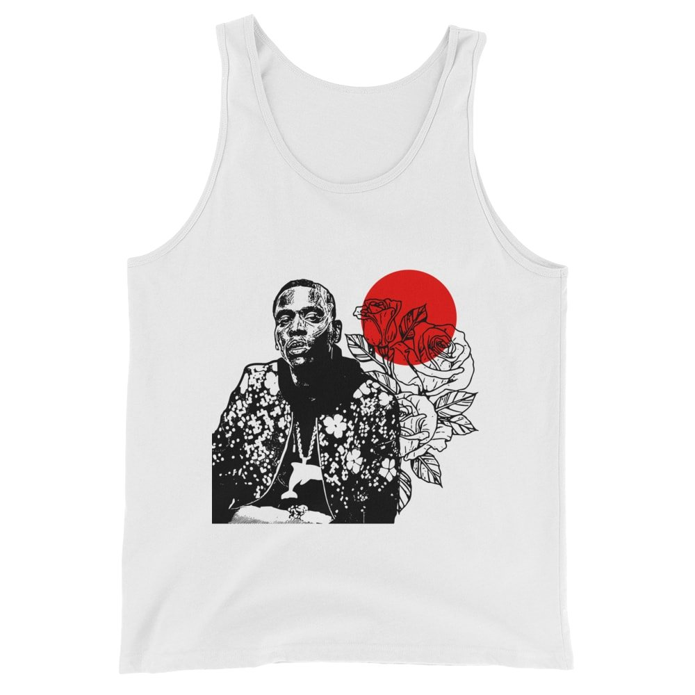 Babes /& Gents Young Dolph White Tank Top Unisex