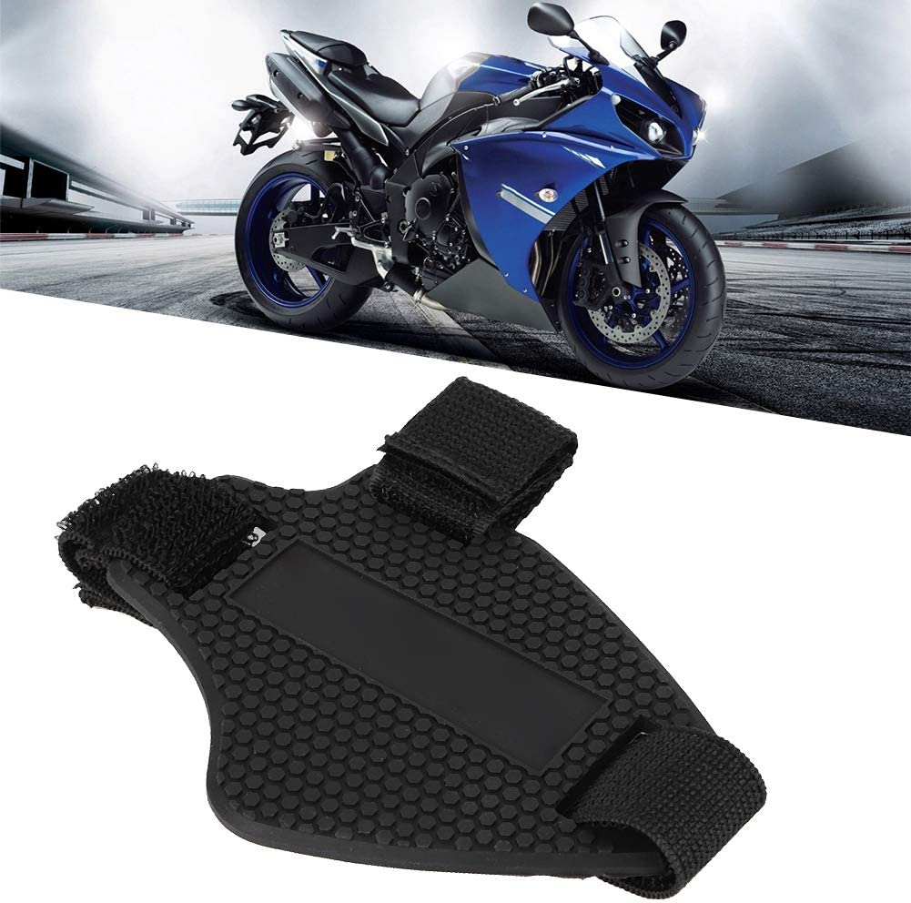 Chaussures de Moto en Caoutchouc Protecteur de Protection Protecteur de Vitesse Protections de Changement de Vitesse Accessoires de Moto