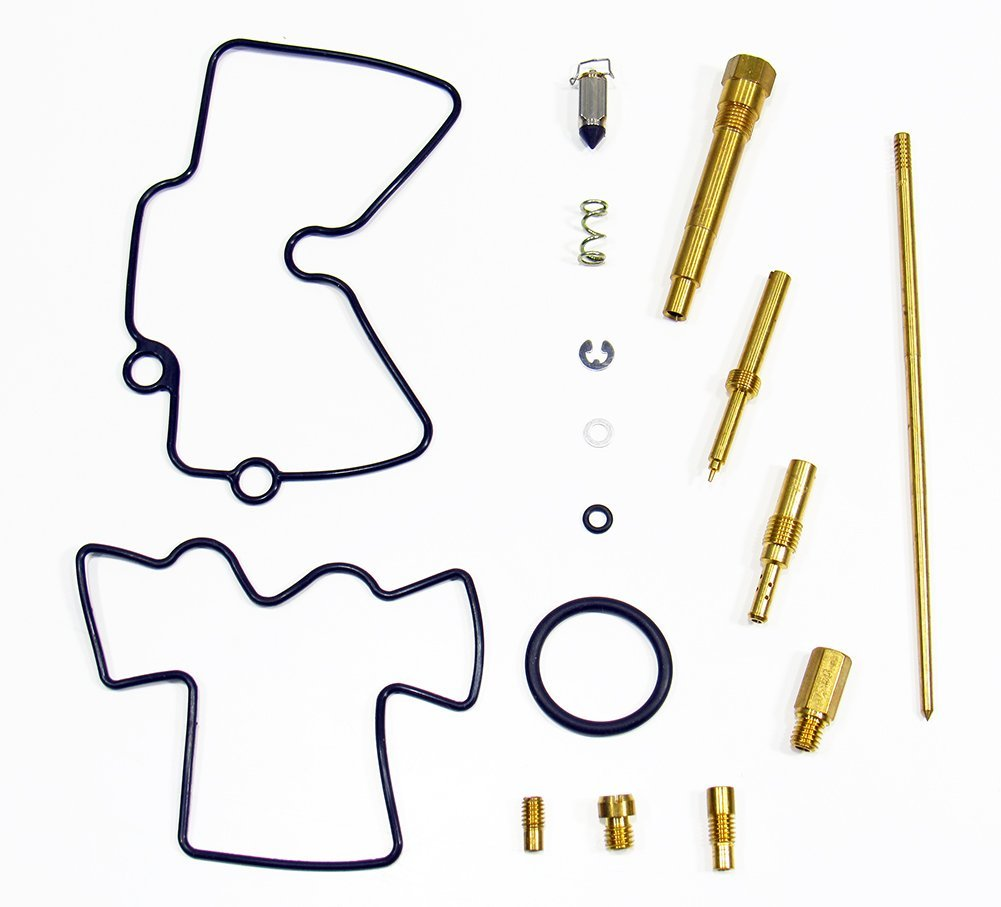 Outlaw Racing OR2557 Carburetor Carb Complete Master Repair Rebuild Kit YZ250F 2003 2004 2005 2006 Outlaw Racing Products