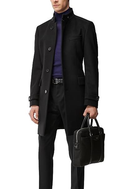bff1d31a9501 Hugo Boss Men s Virgin Wool Cashmere Coat