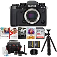 Fujifilm X-T3 Mirrorless Digital Camera Body (Black) with XF 10-24mm F4 R OIS Lens + SanDisk 128GB Ultra UHS-I + 2 NP-W126 & Dual Charger + Deluxe Photo Software Bundle (6 Items)