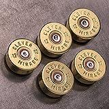 War Monkey 12 Gauge Polished Shotgun Shell Magnets