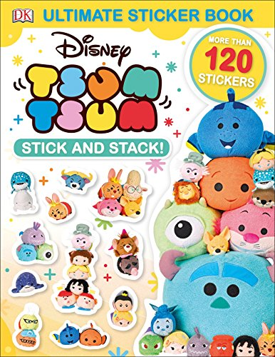 Ultimate Sticker Book: Disney Tsum Tsum Stick and Stack! (Ultimate Sticker Books)