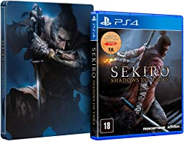 Sekiro: Shadows Die Twice + Brinde Steelbook - PlayStation 4