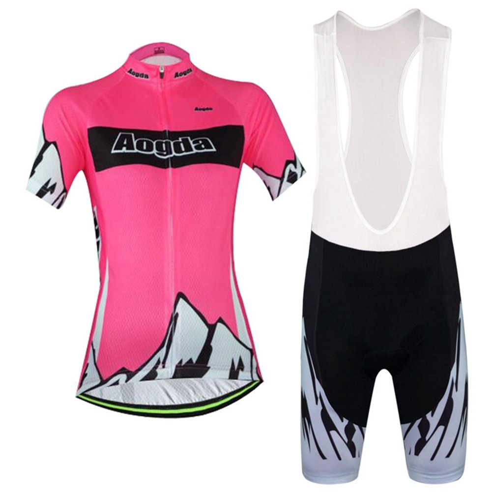 Uriah Women 's Cycling Jersey Bib Shortsセットポリエステル半袖 B071RZPXL1 Chest 34.6''=Tag M|Peak Red Peak Red Chest 34.6''=Tag M