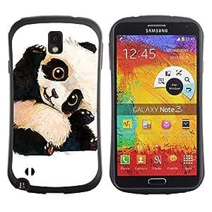 Suave TPU GEL Carcasa Funda Silicona Blando Estuche Caso de protección (para) Samsung Note 3 / CECELL Phone case / / cute baby panda bear kids children's /