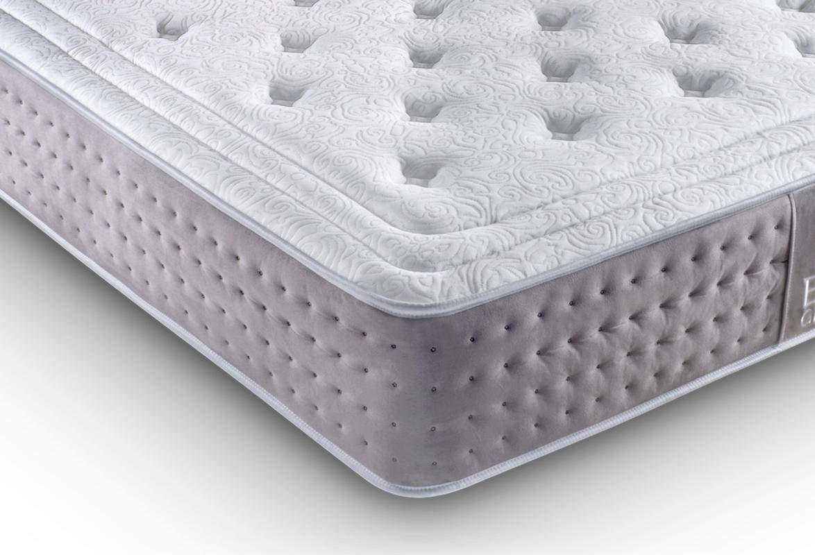 KAMA HAUS Colchón VISCOGRAFENO Elite 135x190 cm. | Gama Alta | con ViscoGRAFENO-Soft | Sistema Comfort Plus 8cm | Antiestrés | Alto Confort y adaptabilidad ...
