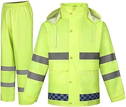 Lygid Regenanzug Für Herren Damen Regenkleidung Jacke Hosen Wasserdicht Set Erwachsene Mit Kapuze Outdoor Arbeit Motorrad Golf Angeln Sport Freizeit