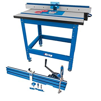 Kreg PRS1045 Router Table System w/ PRS1200 Precision Beaded Face ...