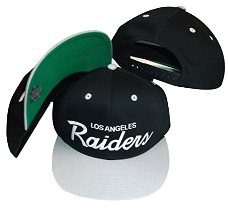 Image Unavailable. Image not available for. Color  Los Angeles Raiders Black Silver  Two ... 79e2c857f