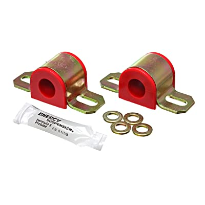 Energy Suspension 9.5122R 18MM SWAY BAR BUSHING SET: Automotive