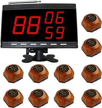 SINGCALL Campana de llamada en la mesa, El producto incluye un ...