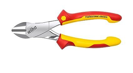 WIHA 41279 - Alicates de corte diagonal de fuerza Professional electric con DynamicJoint® Z 16