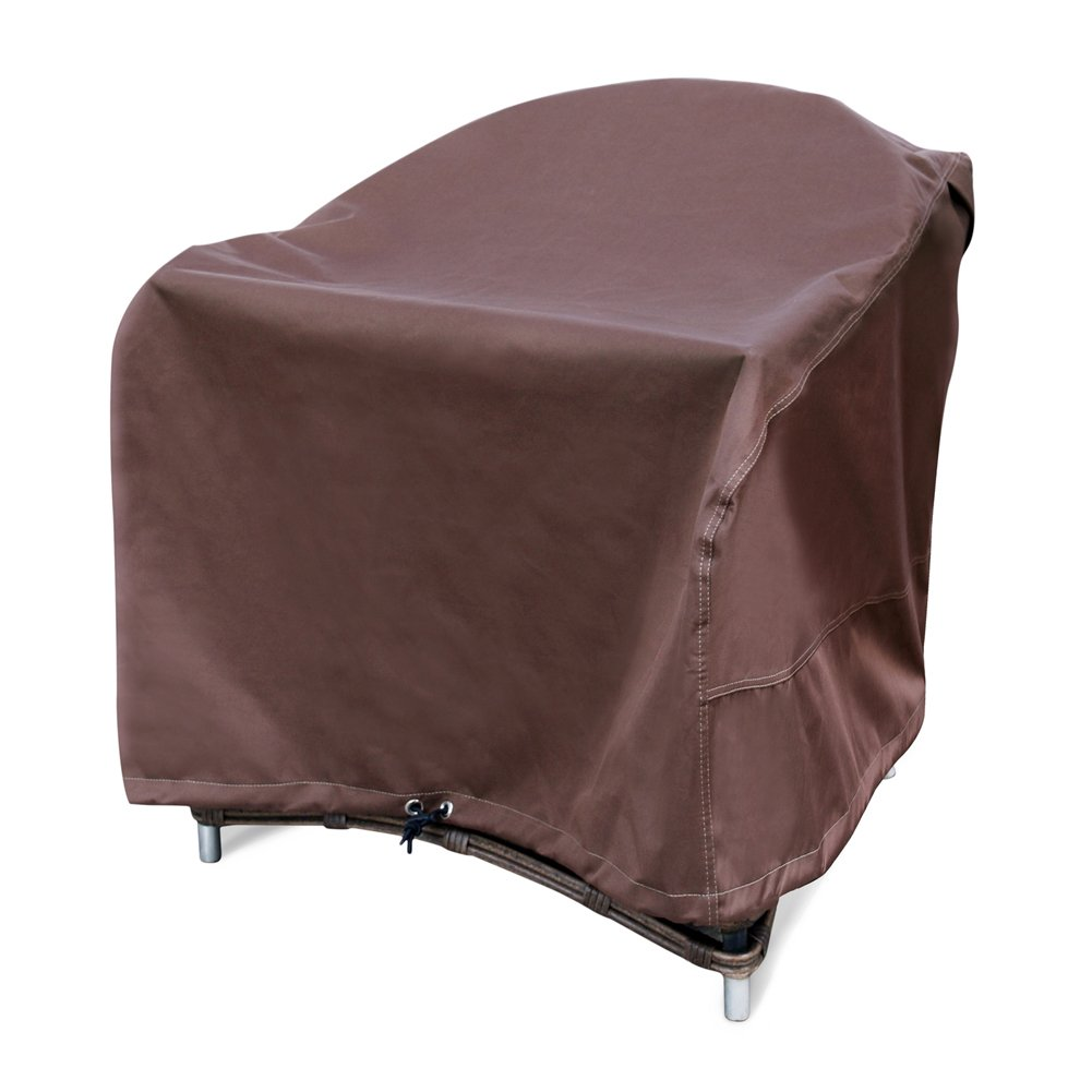 XGEAR Patio Chair Cover 100% Waterproof for Outdoor/Garden/Veranda/Home Furniture Cover Fits up to Chairs 33 in.L x 33 in.W x 30 in.H